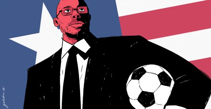 deporte, fútbol, ídolo, presidente, liberia, áfrica, superación