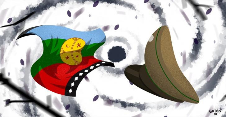 Operación Huracán, Carabineros, La Araucanía, Causa Mapuche