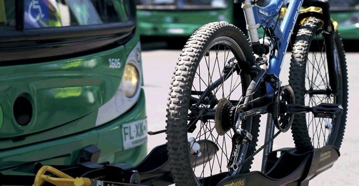 bici bus, bicicletas, ciclovías, ciclo facilidad,buses, medioambiente