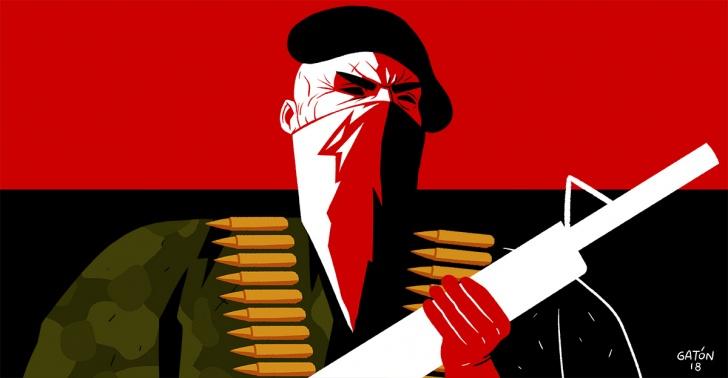ELN, colombia, guerrilla, guerrilleros, conflicto, armas, FARC, paz