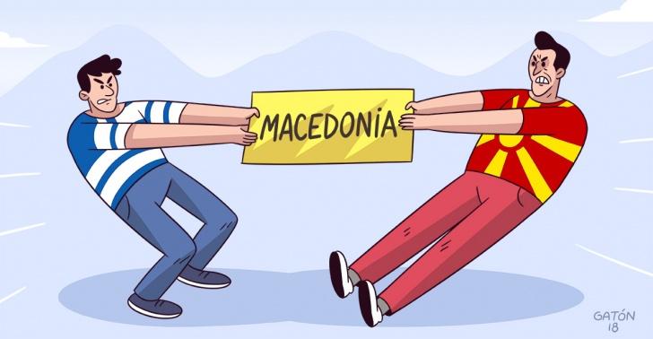 macedonia, grecia, mundo, internacional, conflicto, geografía