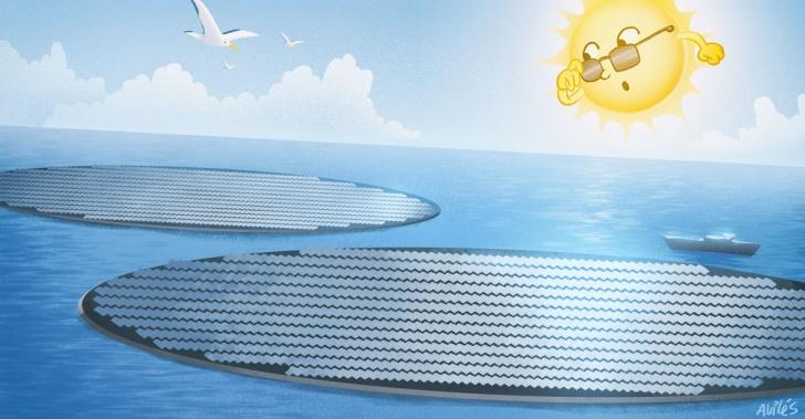 paneles solares, medioambiente, holanda, energía renovable, panel fotovoltaico, parque solar, Zon-op-Zee,