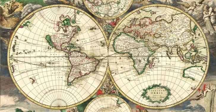Mapa Del Mundo Tumblr.6 Mapas Antiguos Que Revolucionaron El Mundo