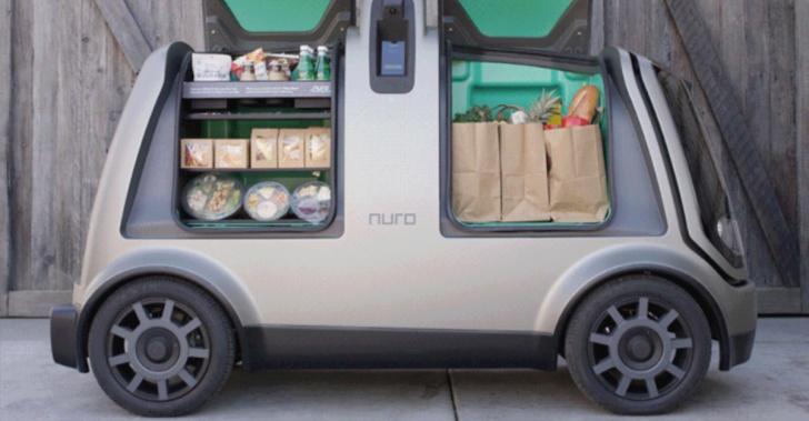 tecnología, vehículos autónomos, delivery, reparto, conducción, robots