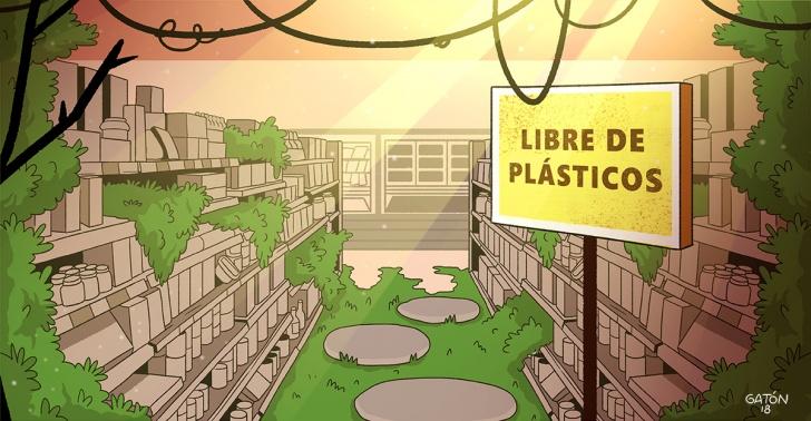 supermercados, reciclaje, verde, medioambiente, países bajos