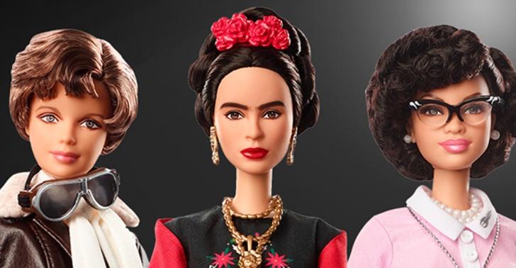 barbie, niñas, mujeres, empoderadas, muñecas, frida kahlo,