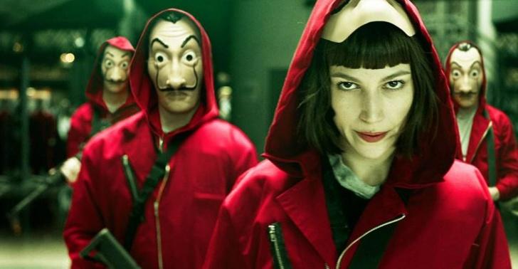 España, serie, película, éxito, robo, terror
