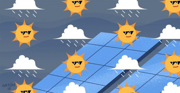 energía, lluvia, solar, medioambiente, china, ciencia