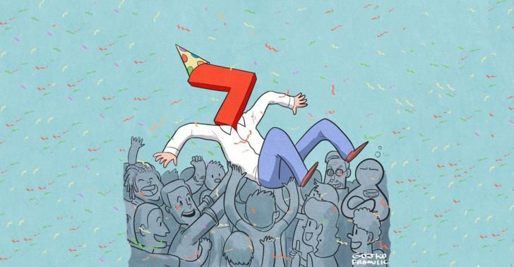 Buenas noticias, mejores noticias, noticias propositivas, noticias constructivas, cumpleaños, El Definido, metas, mitos