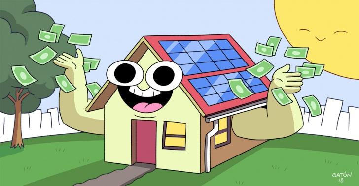 energía solar, paneles fotovoltaicos, electricidad, luz, ahorro, energías renovables, medioambiente