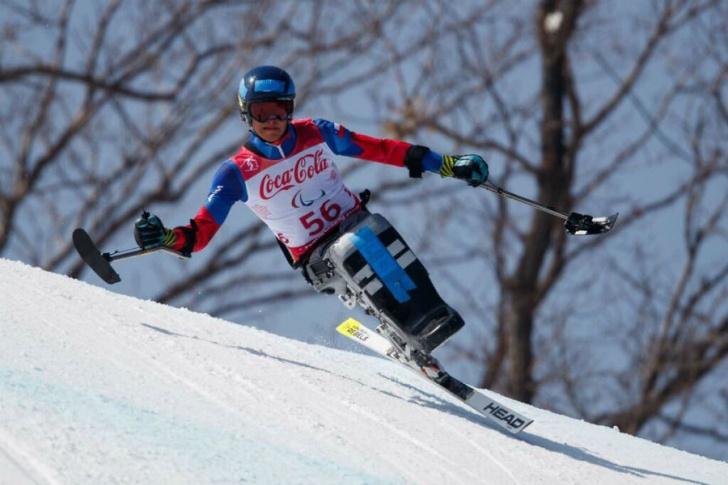 deporte, ski alpino, olimpiadas paralímpicas, atleta