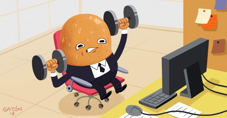ejercicio, actividad física, trabajo, sedentarismo, medicina deportiva