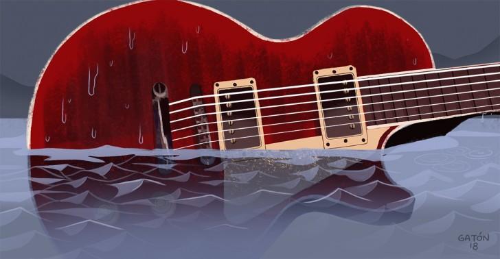 rock, guitarra electrica, guitarras gibson