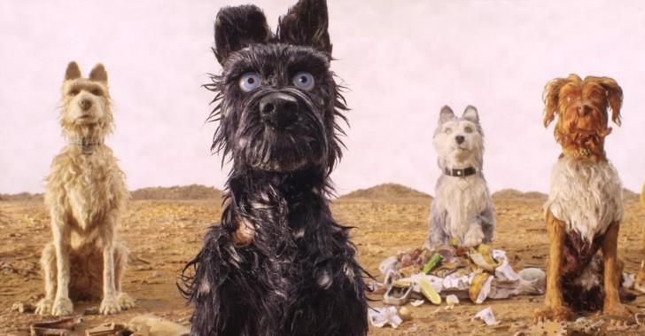 isla de perros, perros, cine, wes anderson, stop motion, animación