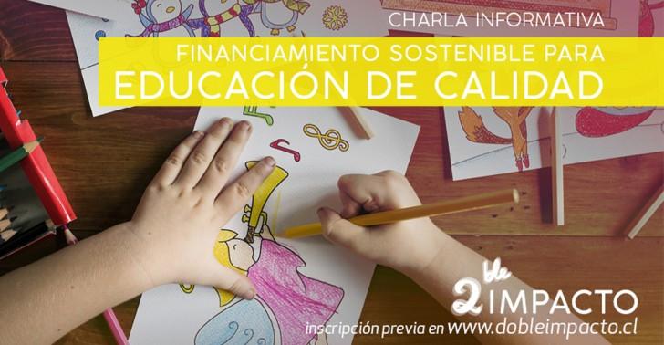 educación, doble impacto, banca ética, proyecto social