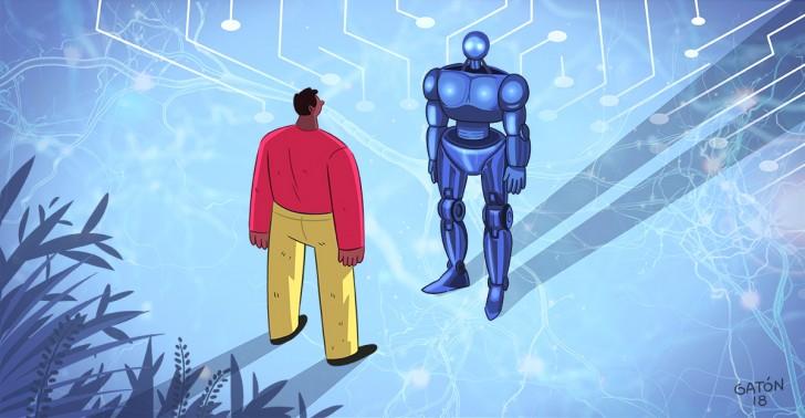 tecnologia, inteligencia, artificial, futuro, maquinas, computador