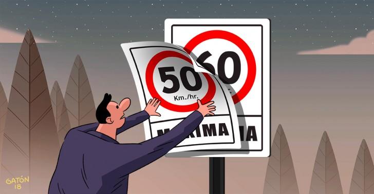límite de velocidad, autos, peatones, ciclismo, ciudad, accidentes, urbanismo, transportes