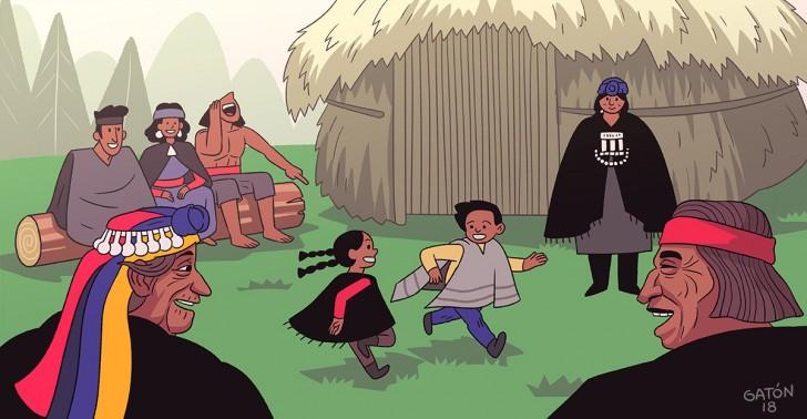 crianza, tribu, apoyo, familia, comunidad.