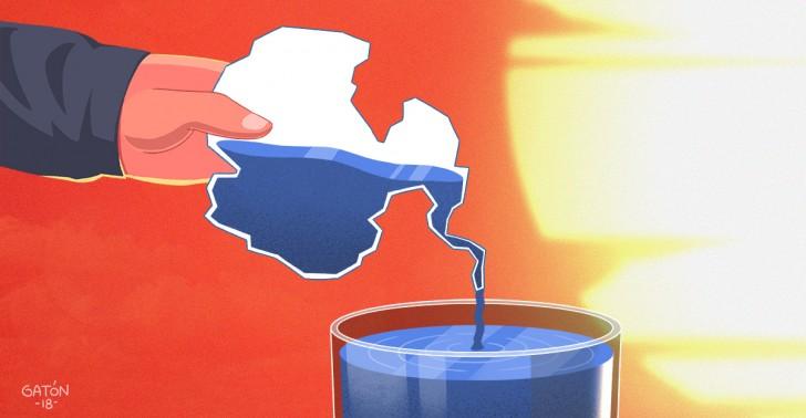 agua, antártica, cambio climático, sequía