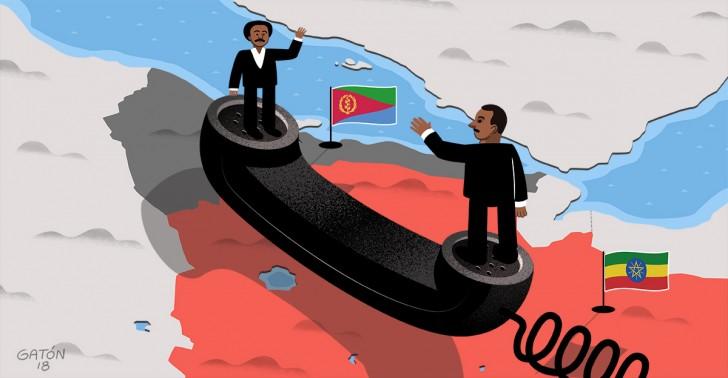 conflicto, paz, etiopía, eritrea, guerra, solución.