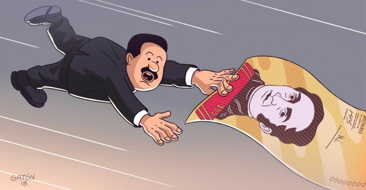 venezuela, hiperinflación, economía, dinero, moneda