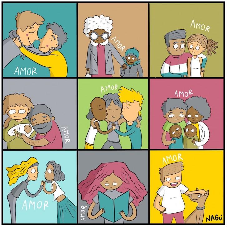 amor familia parejas diversidad