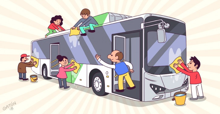 chile, licitación, transantiago, transporte público