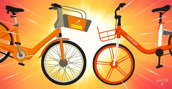 bikesantiago, mobike, servicio, bicicletas, transporte, bici, santiago