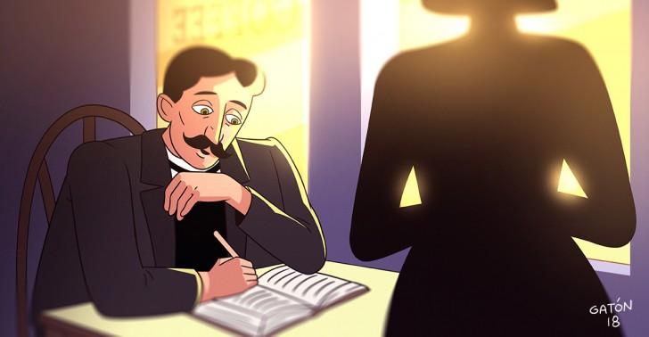 marcel proust, cuestionario, test, personalidad, historia, curiosidades