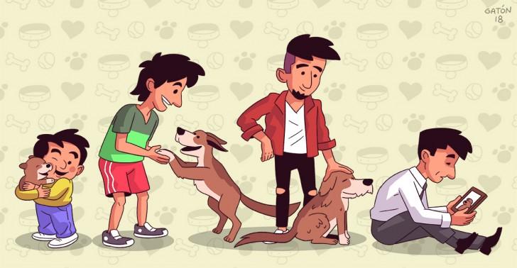 mascota, duelo, perro, muerte, sepultura