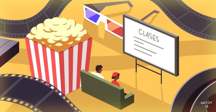 educación, cine, david gilmour, libro, escuelas, cineclub, alain bergala