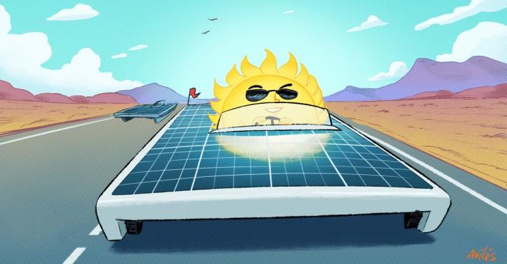 energía solar, atacama, chile, carrera solar, 2018, automovilismo, sustentabilidad