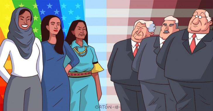 congreso, demócratas, donald trump, elecciones, estados unidos, mujeres, republicanos