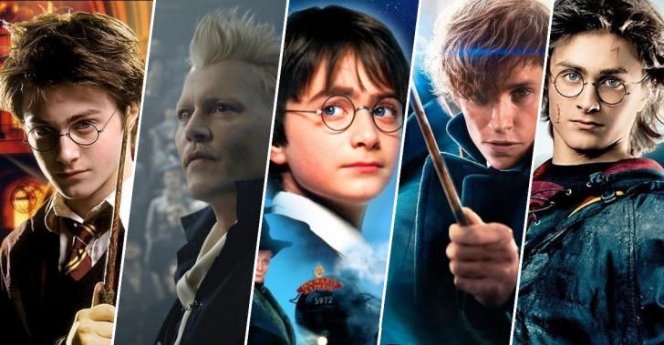 harry potter, magia, películas, ranking, rowling, saga