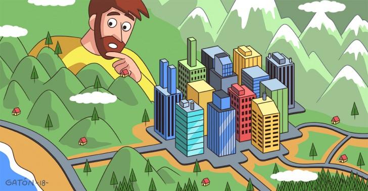 ciudad, santiago, centralización, descentralización, regionalización, regiones
