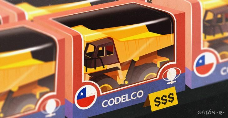 cobre, codelco, impuestos, inversión, propiedad, venta