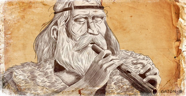 prehistoria, neandertal, homo sapiens, música, flauta, instrumentos musicales, mamut, marfil, paleolítico