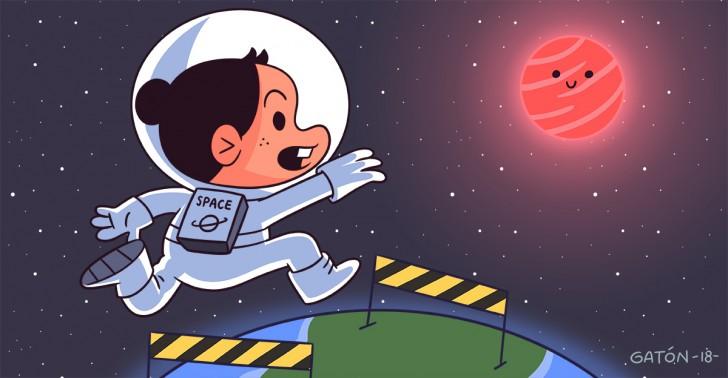 alyssa carson, astronautas, escuela, espacio, san francisco de mostazal