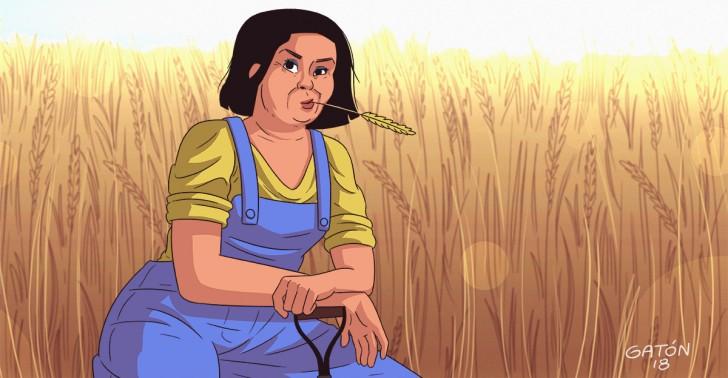 agricultura, mujeres, desertificación