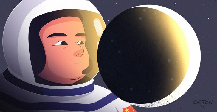Luna, espacio, nasa, china, pink floyd, universo, ciencia, exploración