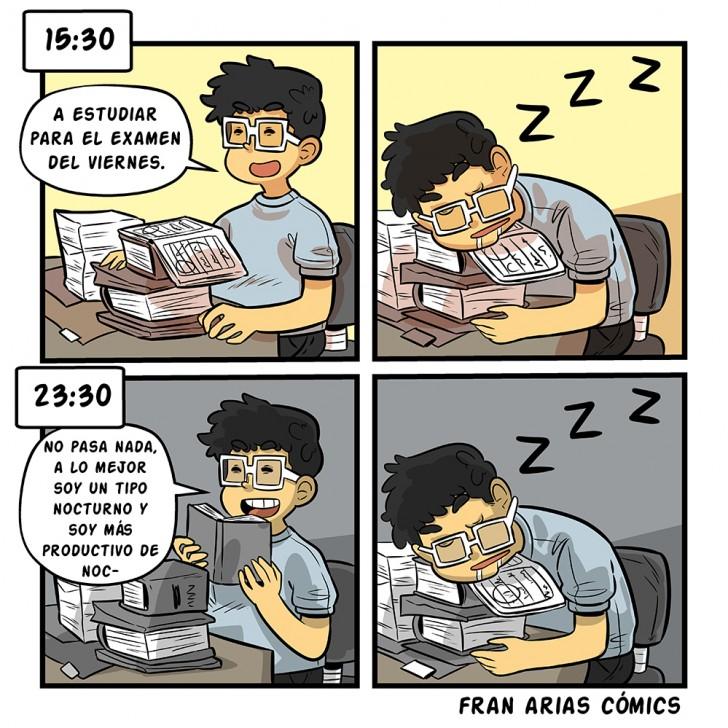 Sueño, estudio, universidad, estudiante