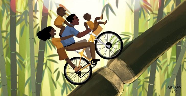 ghana, bicicletas, bambu, emprendimiento, medioambiente, empleo, educacion, transporte