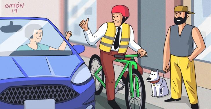 convivencia vial, ciudad, peatones, ciclistas, automovilistas