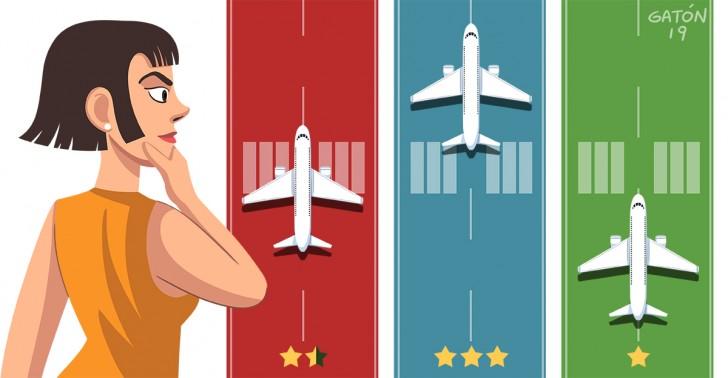 aerolínea, avión, baratos, jetsmart, latam, sky, pasajes, precios, tarifas económicas, vuelos nacionales