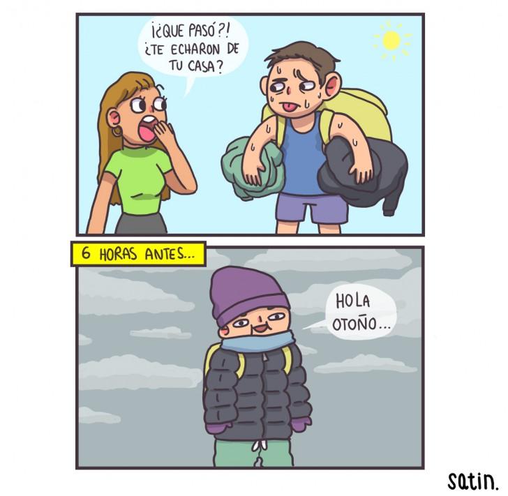 otoño, frio, clima, tiempo, cambio