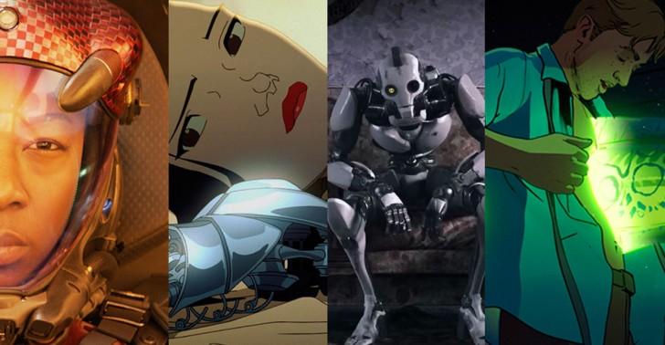 netflix, ciencia ficción, cortometrajes, amor, muerte, robots