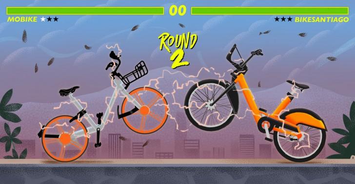 Mobike, Bikesantiago, servicio, bicicletas, transporte, bici, santiago