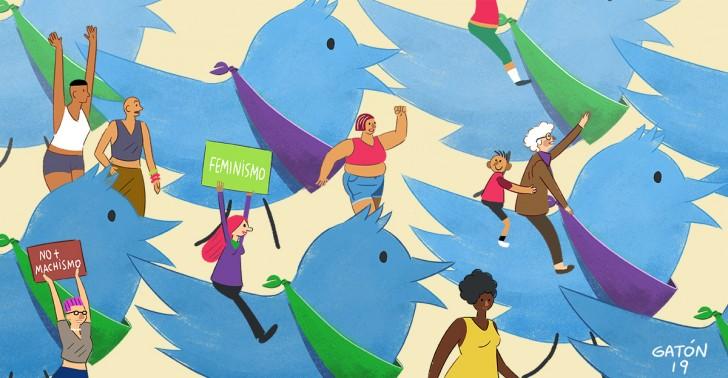 8m, feminismo, huelga, marcha, mujeres, twitter