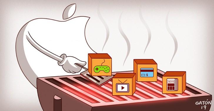 apple, television, tarjetas de credito, videojuegos, netflix, 2019, estrategia, peliculas, series