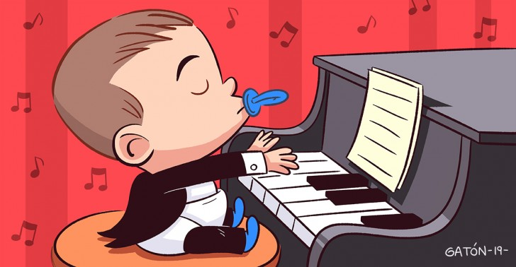 musica, Mozart, estudios, niños, guia para padres, inteligencia, beneficios